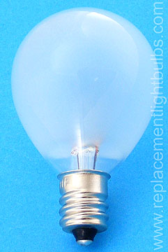 15S11/F 15W 120V Lensometer Frosted Light Bulb, Replacement Lamp