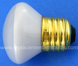 Westinghouse 40R14-120V 40W 120V E26 Medium Screw R14 Reflector Light Bulb, Replacement Lamp