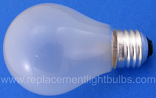 50A19/RS-120V 50W Rough Service Light Bulb, Replacement Lamp