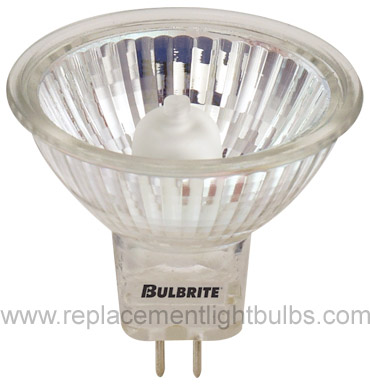 Bulbrite BAB/120/GU5.3 120V 20W with Cover Glass, Lamp, Replacement Light Bulb