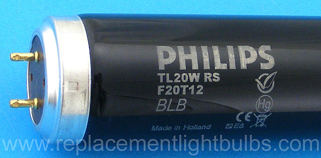 Replacement for Philips F20T12//BL Light Bulb