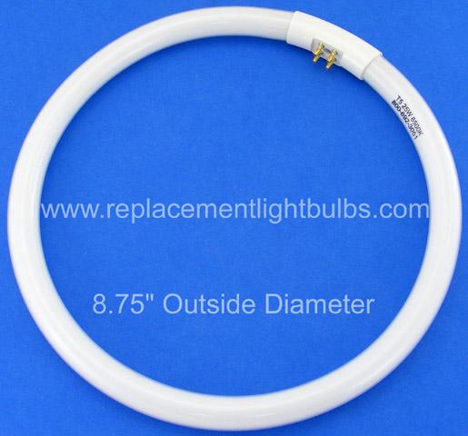 FC25T5/865 25W T5 6500K Daylight Circline Fluorescent Lamp, Replacement Light Bulb