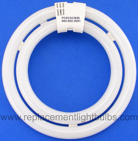 FC55/2C/835 55W 3500K Double Circular Fluorescent Lamp