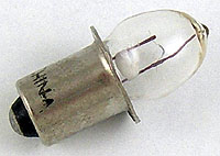 PR4 2.33V .27A Flashlight Bulb, Miniature Lamp