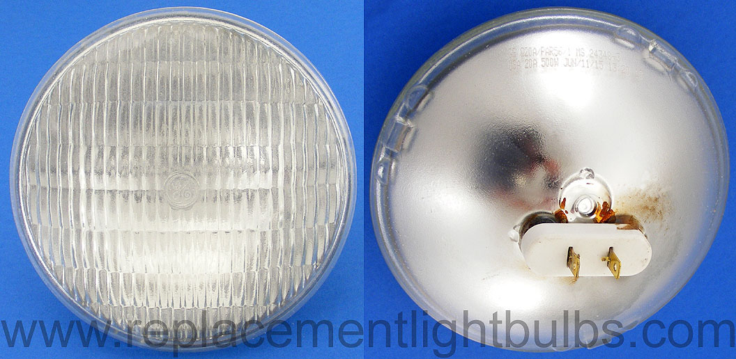 GE Q20A/PAR56/1 Teflon Coated MS 24348-3 20A 500W Lamp