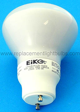 Eiko SP15/R30/27K-GU24 15W 120V 2700K Energy Saving Light Bulb