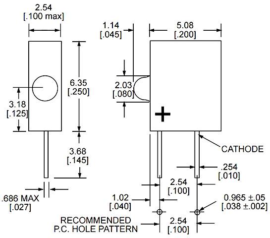 TS5 EiKO LED-24-PSB-G Case of 40 T-2 Slide Base 5