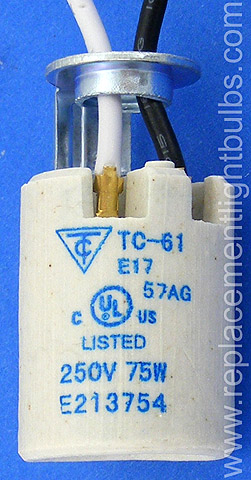Tc 61 250v 75w E17 Intermediate