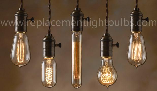 Light Bulb Novelty Lamp : Novelty Restaurant Antique Replacement Light Bulbs