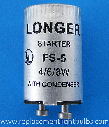 FS-5 Fluorescent Starter with Condenser